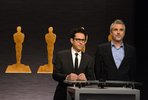 JJ Abrams and Alfonso Cuaron|Photo Credit: Reuters/達志影像