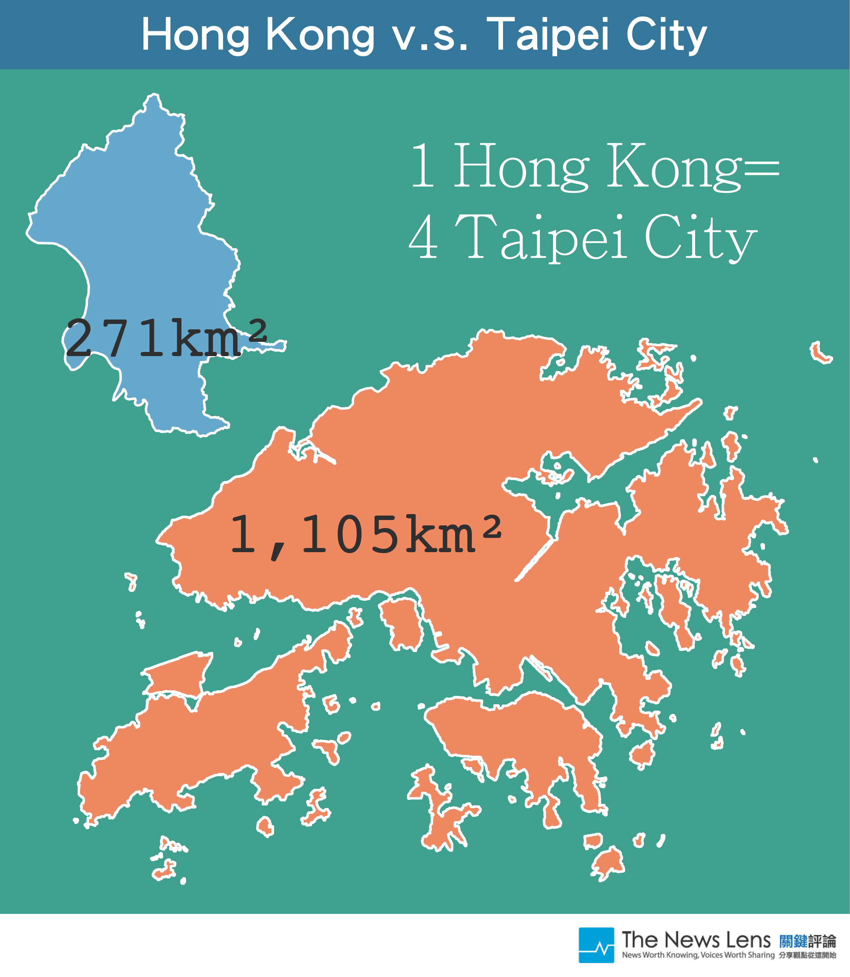 11 diagrams how big are the major cities in asia the news lens sources gadm wikipedia hong kong gumiabroncs Images