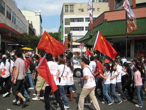 One China march