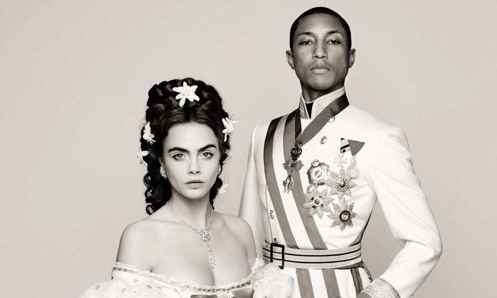 cara-delevingne-and-pharrell-williams-si