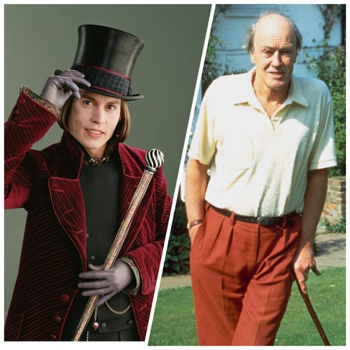 Roald Dahl Willy Wonka